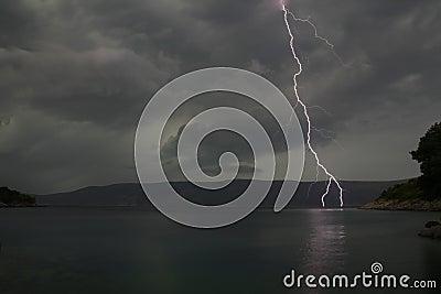 Evening Lightning