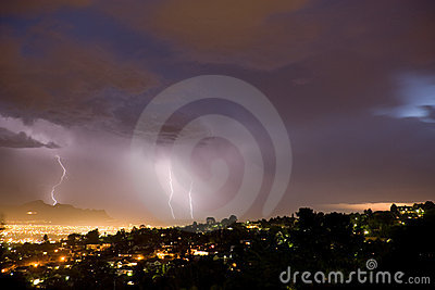 Evening Lightning Bolts
