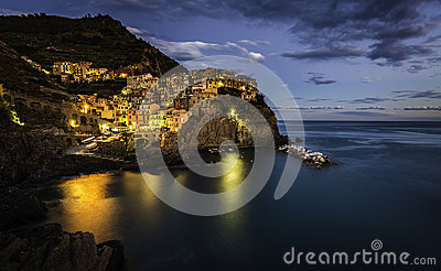 Evening in Manarola