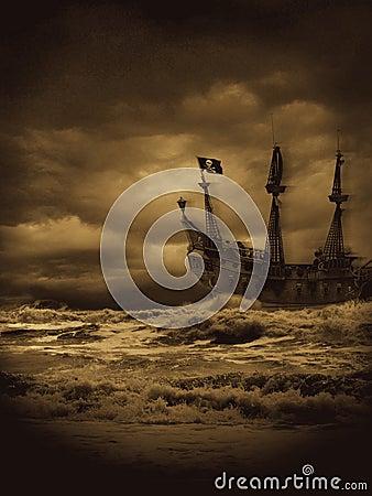 Vintage Pirate Seas