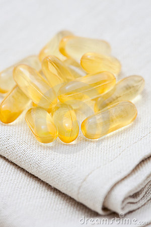 Evening primrose supplement pills