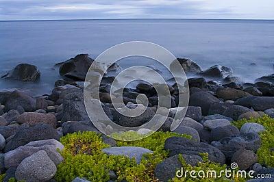 Evening sea-piece