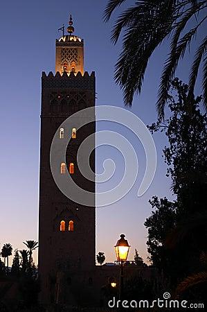 Free Evening Shot Of The Koutoubia Mosque Marrakech Stock Photo - 202280
