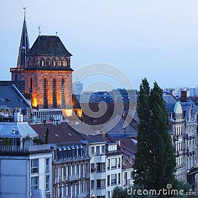Evening Strasbourg