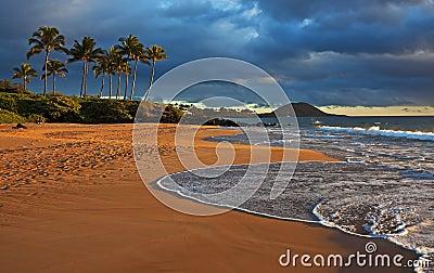 Evening sunburst, Hawaii