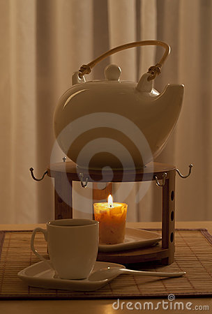 Free Evening Tea Royalty Free Stock Photo - 17966675