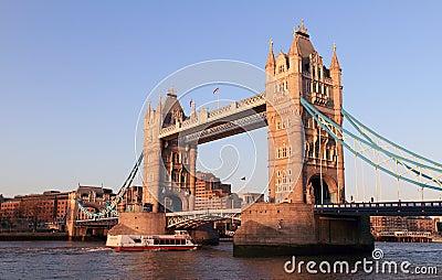 Evening at Tower bridge