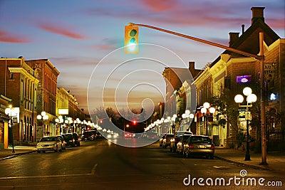 Evening Town