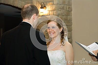 Evening Wedding Ceremony