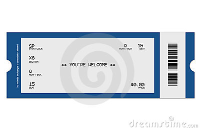 Event Ticket Royalty Free Photography Image 5065687 – Event Ticket Template Free Download