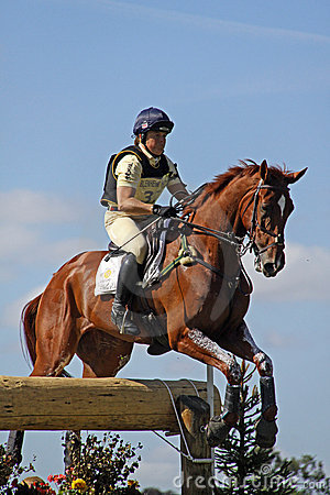 Eventing horse P Funnell Editorial Photo