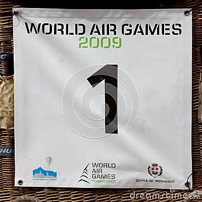 Evento della prova del WAG 2009 Fotografia Editoriale