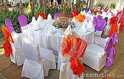 Events preparation for dinner