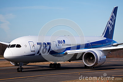 Boeing 787 All Nippon Airways Editorial Image