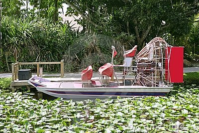 Everglades airboat in South Florida