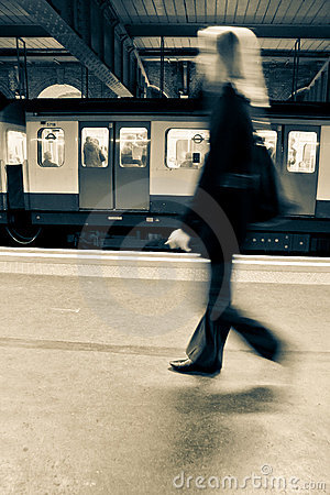 Free Everyday Commuting Royalty Free Stock Photo - 15065695