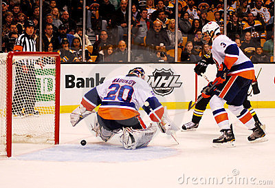 Evgeni Nabokov New York Islanders Editorial Stock Image