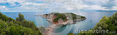 Evia Island Panorama Landscape