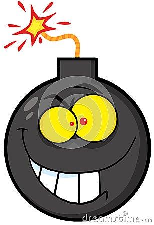 Evil bomb character