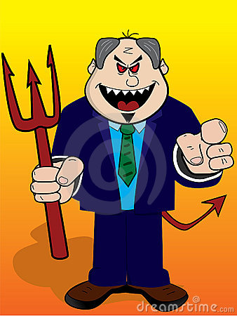 Evil boss