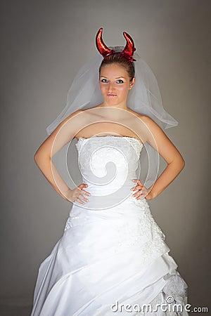 Free Evil Bride Stock Images - 14435514