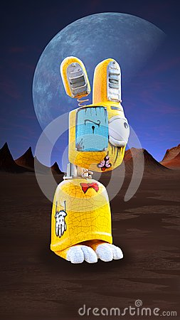 Free Evil Bunny Rabbit Wallpaper Background Stock Photos - 103099883
