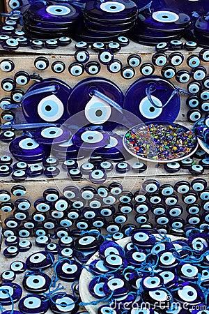 Evil Eye Souvenirs Turkey
