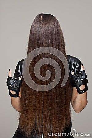 Evil hair