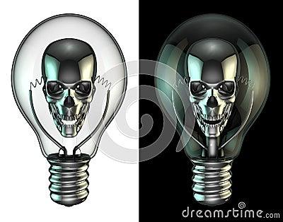 Evil idea bulb