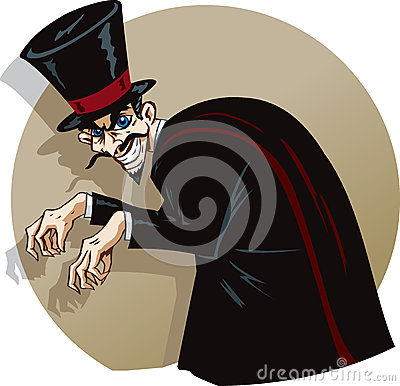 Free Evil Magician Stock Photography - 36742762