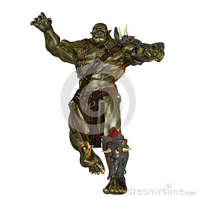 Evil orc