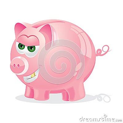 Evil Piggy bank