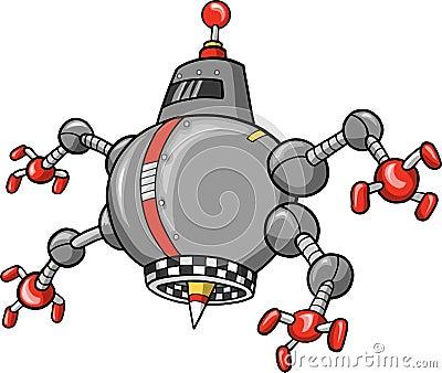 Evil Robot Vector