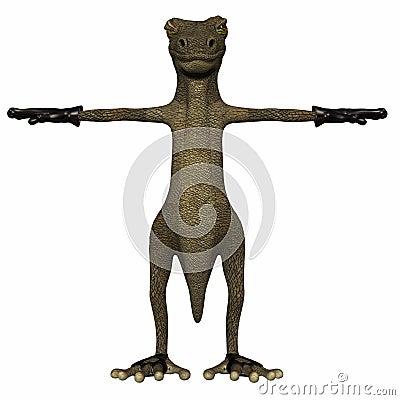 Evil Salamander - Default Position