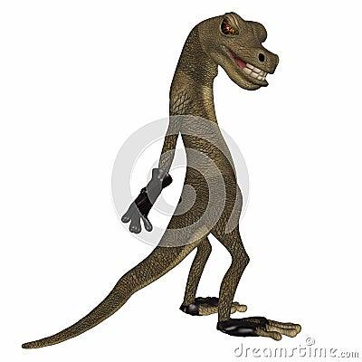 Evil Salamander - Posing