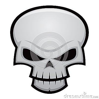 Free Evil Skull Stock Image - 18008651