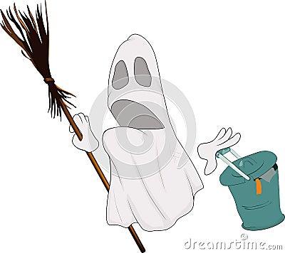 Evil spirits broom