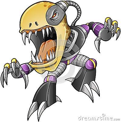 Evil Zombie Undead Cyborg