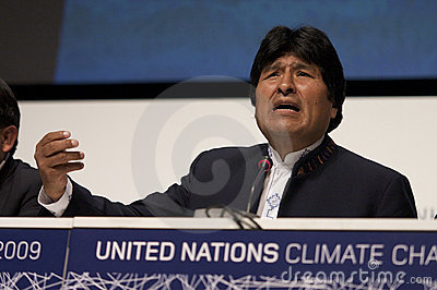 Evo Morales Editorial Image