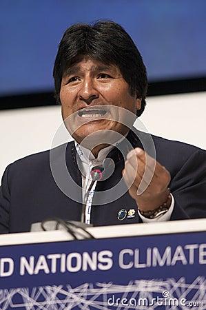 Evo Morales Editorial Photo