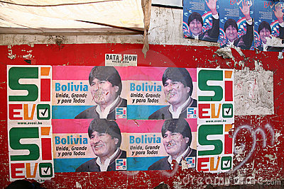 Evo Morales, Bolivia Editorial Photo