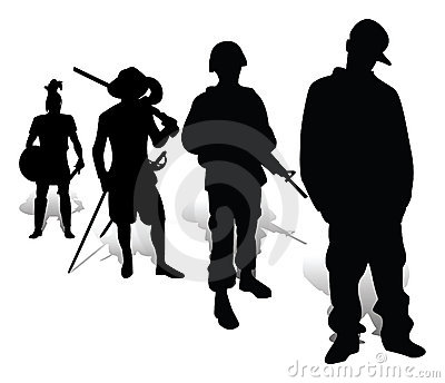 Evolution of defenders of the native land