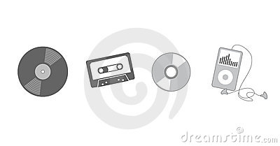 Evolution of listening to music