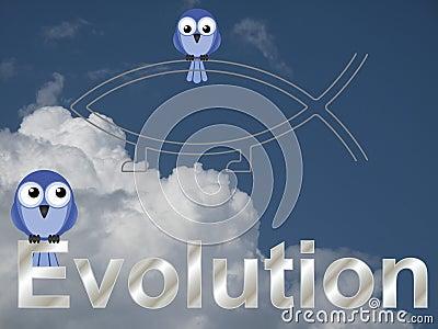 Evolution text