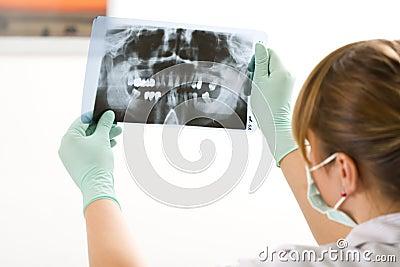 Examining radiography