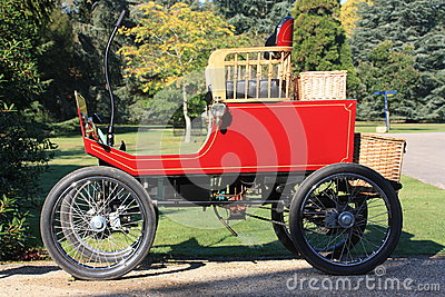 Exbury Gardens steam car Editorial Stock Image