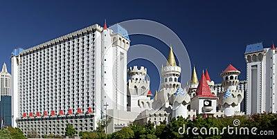 Excalibur Casino - Las Vegas - Nevada - USA Editorial Stock Image