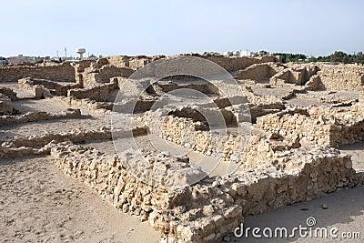 Excavated ancient Saar village