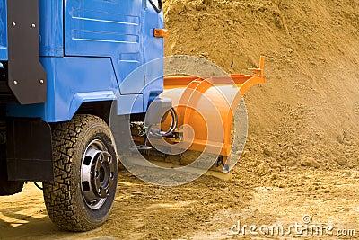 Excavating works