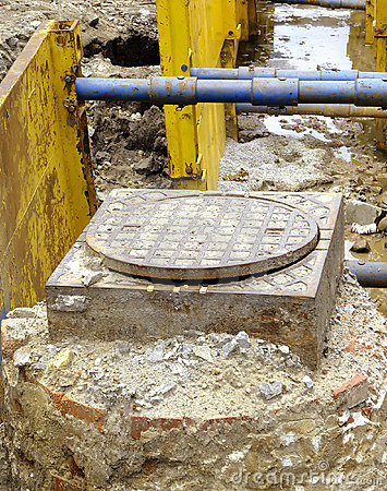 Excavation pit
